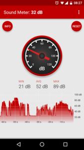 Sonómetro para Android
