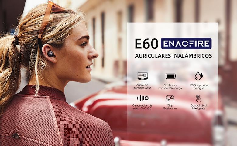 Auriculares inalámbricos ENACFIRE E60