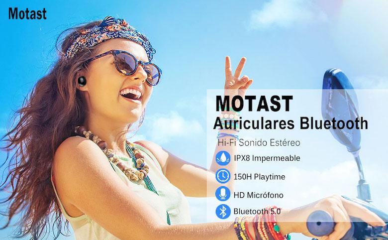 Auriculares inalámbricos Motast C5