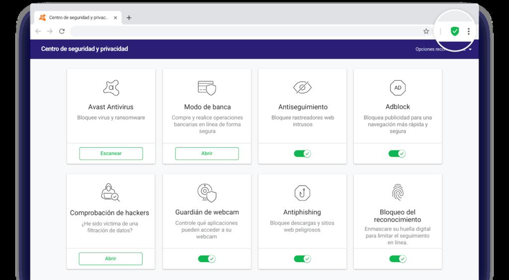 Avast Secure Browser - Centro de Seguridad y Privacidad de Avast